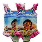 Kids Girls Toddler Kawaii Cute Moana Summer Swimwear Swimming Swimsuit Bikini