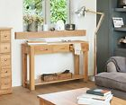 Oxford Solid Oak Furniture Console Hall Table