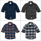 ABERCROMBIE & FITCH MEN`S by Hollister FLANNEL SHIRTS PHELPS TRAIL NEW SIZE XL