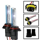 Two HID Kit 's Xenon Light Replacement Bulb H4 H7 H11 9006 H1 H3 880 5202 9145