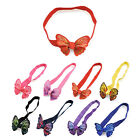 Fashion Women Cute Bow Rabbit Bunny Ear Ribbon Hair Band Wire Headband Wrap Gift