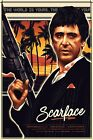 SCARFACE POSTER 1 - CHOOSE YOUR SIZE A5-A4-A3-A2 FREE UK P&P
