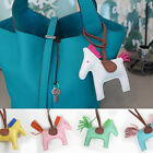 SHEEPSKIN HORSE CHARM for BAG ~ [made in KOREA] Genuine Leather Accessories