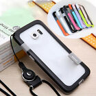 Wolnutt TPU+Plastic Case With Lanyard For Samsung Galaxy S3/S4/S5