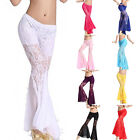 Belly Dance Costumes Lace Flared Trousers Dancer Tribal Pants S XL