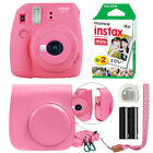 Fuji Instax Mini 9 Fujifilm Instant Film Camera All Colors+ Case &amp; 20 Film Sheet <br/> ** HOLIDAY GIFT SPECIAL!!! **