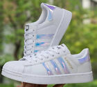 Kyпить New Leather Casual Lace Up Sneakers Trainer Shoes Superstar For Mens Women's  на еВаy.соm