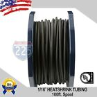 Kyпить ALL SIZES 1 -100 FT Black Polyolefin 2:1 Heat Shrink Tubing Wire Sleeving UL LOT на еВаy.соm