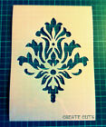Damask Pattern reusable STENCIL for interior / home wall decor /Not a Decal