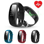 ID107 Plus Waterproof Watch Bracelet Heart Rate Activity Tracker SMS/Call Alert