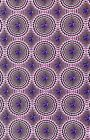 Amethyst Gems Encircled in Pink Pearls Cotton Quilting Fabric Craft