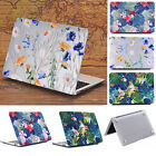 """Flower Pattern Print Matte Protective Case Cover for MacBook 12"""" Air 11"""" 13"""" 15"""""""