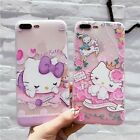 3D Reliefs Cute Animal Flower Case For iPhone 6 7 8 Plus P10 Samsung S8 KT Cover