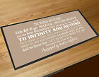 In this House We do, Disney inspired Quote Kitchen table mat bar mat runner
