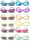 BW31/2 Kids Crystals Sparking Pastic Flame UV400 Protect Sunglasses Jelly Colour