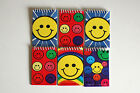 6 MINI SPIRAL MEMO/NOTEBOOKS/PADS-SMILEY/GLAMOUR/RACING CARS/JUNGLE/FBALL/CHILD