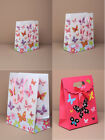 BUTTERFLY PATTERNED PAPER GIFT BAGS / BOXES FREE POST