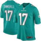 Miami Dolphins Jersey Ryan Tannehill #17 Nike Youth Game Replica NFL Teal