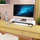 Computer Desktop Monitor Stand Laptop Display Screen Riser Shelf & USB Charger