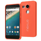 Official Smooth Back Skin Soft Case Cover For LG Google Nexus 5x
