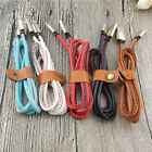 Leather Micro Usb Lightning Sync Data Charger Cable For Iphone 5 6 6s 7 Plus Hot