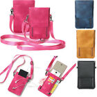 Handbag Luxury Leather Wallet Case Pouch Shoulder Bag Pocket Cell Phone  Cover