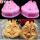 3D Biscuit Baking Plunger Cartoon Chipmunk Cutter Cookie Mold Decorating Tools