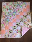 Boutique Handcrafted Soft Baby Quilt