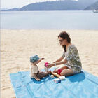 Beach Mat Picnic Blanket Sand Camping Rug Outdoor Camping Polyester Mesh Blanket