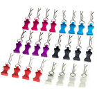 4Pcs GPM Body Clips with Aluminum Mount Set for 1/8 1/10 1/12 RC Cars 6 Colours