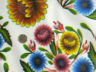 WHITE BLOOM MEXICAN SUNFLOWERS KITCHEN DINING OILCLOTH VINYL TABLECLOTHS NEW