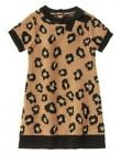 NWT Gymboree Right Meow Sweater Dress Leopard Print Size 4T