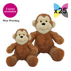 25 Max Monkeys Cuddly Soft Toys Without Clothing Blank Plain Plush Gift Gifts