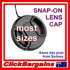 `Centre Pinch Snap on LENS CAP protector cover 37-77mm caps for Canon Nikon Sony