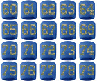 #60-79 Number Sweatband Wristband Baseball Lacrosse Royal Blue Camo Camouflage