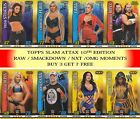 2017 Topps WWE SLAM ATTAX 10 10TH EDITION BASE CARDS #49 - #292 BUY 3 GET 7 FREE