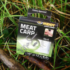 NEW MIDDY BARBLESS MEAT CARP HOOKS TO NYLON FOR COARSE FISHING 6,8,10,12,14
