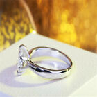 round cubic zirconia engagement rings - Round Ring Engagement Rings 6 Prongs Setting Cubic Zirconia Jewelry For Women
