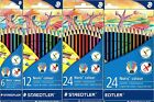 Staedtler Noris Colour Hexagonal Pencils Set - Packs of 6, 12 or 24 Available