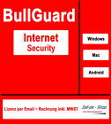 BullGuard Internet Security 2017  (1, 5 oder 10)  Windows, Mac & Android (Multi)