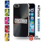 The Contender USA DVD Series Logo Engraved CD Phone Cover Case- iPhone & Samsung