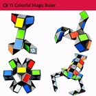 3D Colorful Magic Ruler 24/36/48/72p Snake Twist Cube Puzzle Kid Educational Toy