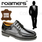 """Roamers """"Chester"""" Mens Fuller Fit Dress Shoes Black Leather Casual Moccasins"""