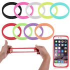 Universal Phone Case Bumper Silicone Gel Wristband For Apple Samsung Sony Xiaomi