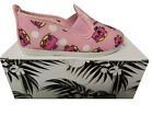 FLOSSY GIRLS PINK LITTLE MISS CHATTERBOX CANVAS SHOES RRP £20 FREE P&P