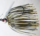 Bob4Bass Black Shad Spit-N-Fire Pitching Swim Jig PTUT016 Black N Red