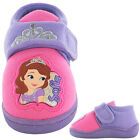 GIRLS DISNEY SOFIA VELCRO SLIPPERS MODEL TANASIDE FREE P&P