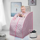 Portable SPA Steam Sauna Tent Full Body Detox Massage Weight Loss