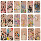 Pattern Alice Hybrid Rubber Shockproof TPU Clear Back Cover Case for iPhone 6S 7