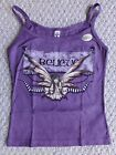 AMY BROWN'S ~BELIEVE~ CLASSIC Fairy Purple Tank Juniors/Girls Sizing NWT
